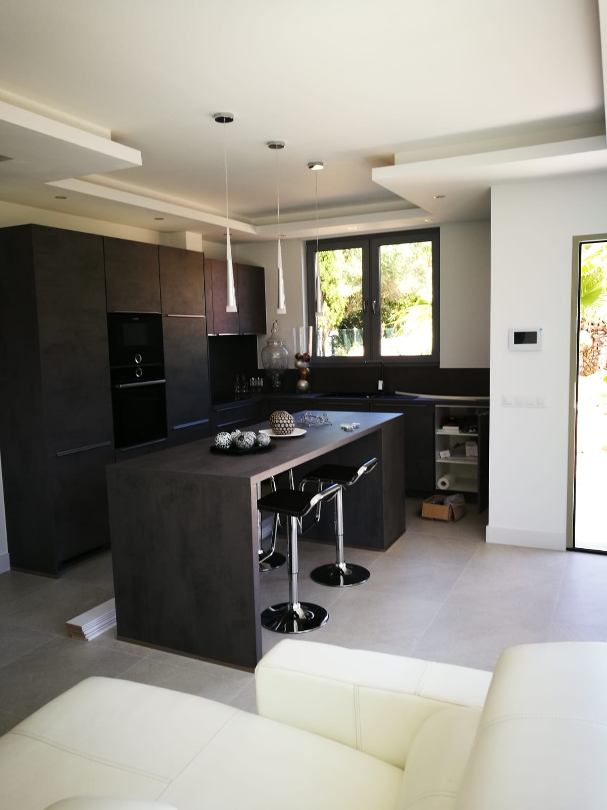 Casa nueva de diseño con jardín y piscina en Crestatx, cerca de Pollensa, Mallorca