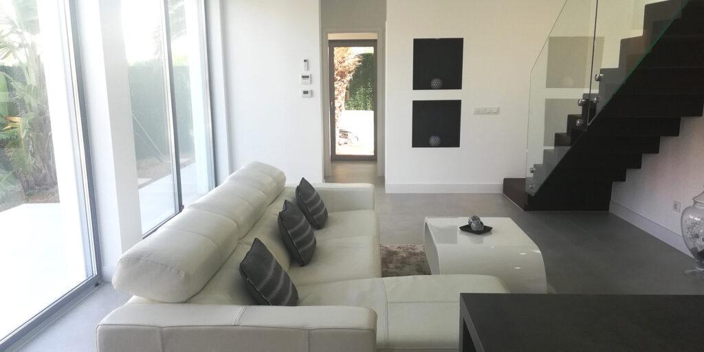 New design house with extensive garden and pool in Crestatx, near Pollensa, Mallorca