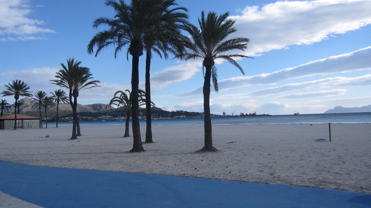 Precioso apartamento de 1 dormitorio en venta en Edificio Mississippi, Puerto Alcudia, Mallorca