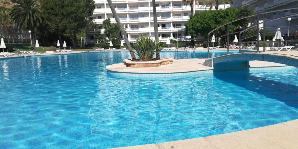 Apartamento de 1 dormitorio en el Siesta 1, Puerto Alcudia, Mallorca