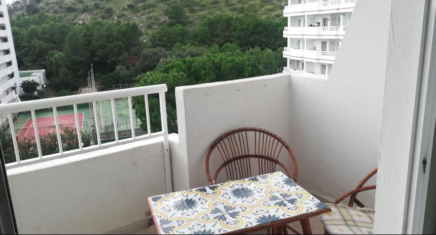 Estudio amueblado en lado piscina del Edificio Siesta-1, Puerto Alcudia, Mallorca