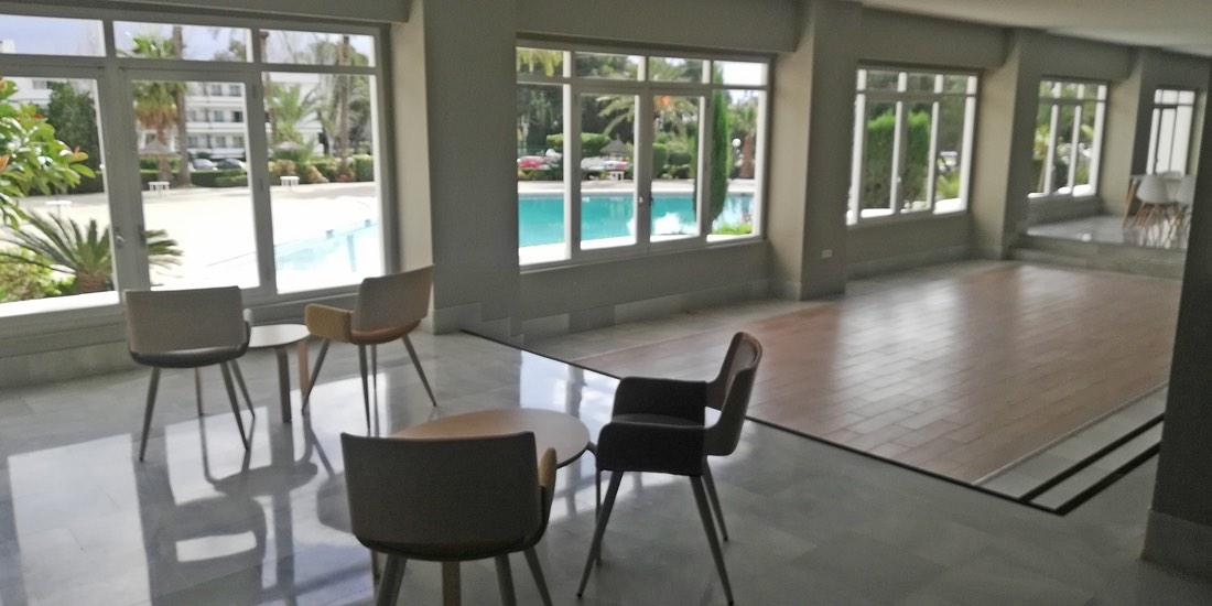 Bonito estudio renovado, lado piscina en Siesta-3, Puerto Alcudia