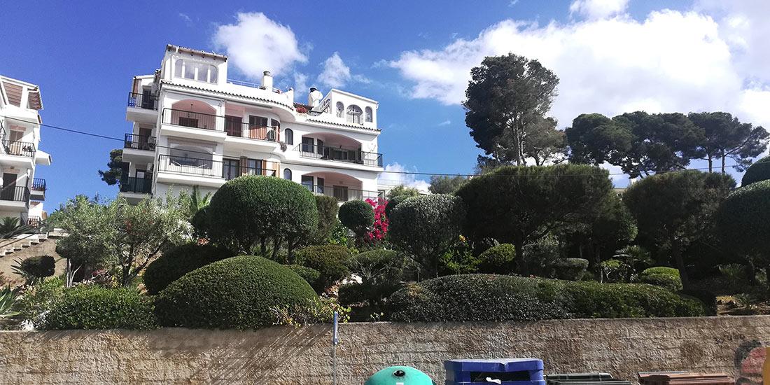 Apartamento con preciosas vistas a la Bahía de Alcudia, en Alcanada, Mallorca