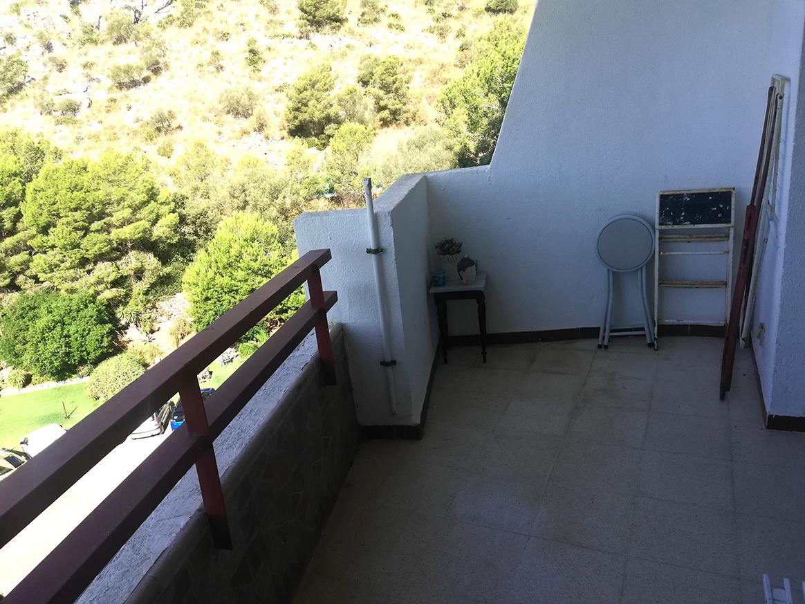 Estudio renovado en venta en Siesta 3 con sol y vistas a la montaña, Alcudia, Mallorca